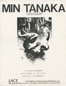 Min Tanaka / In Search of Nature and Freedom on Both Sides of the Bodyskin