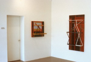 Recent Painting Constructions by Stephen Grossman