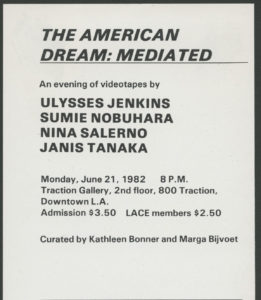 Ulysses Jenkins, Sumi Nobuhara, Nina Salerno and Janis Tanaka