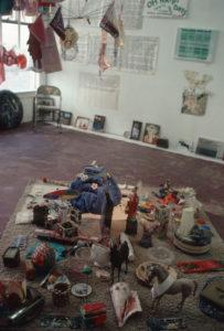 Thrift Store Art / Bookstore Exhibition