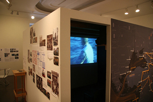 The Black Sea Files, Ursula Biemann. Photo: Nicholas Brown