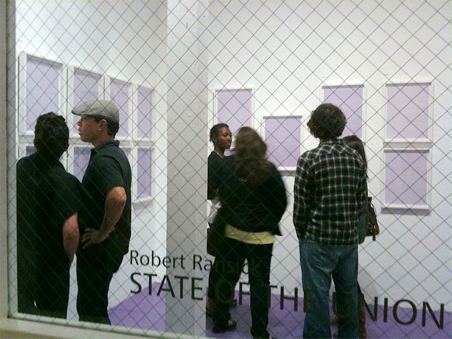 Installation of State of the Union by Robert Ransick
