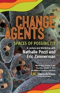 Change Agents: A Lecture with Nathalle Pozzi and Eric Zimmerman