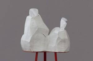 Anna Sew-Hoy, Tissue-Dispensing (double), 2012.