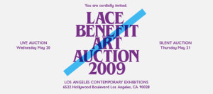LACE Benefit Art Auction 2009