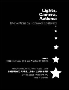 Lights, Camera, Actions: Interventions on Hollywood Boulevard