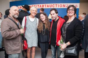 Warren Neidich, Margaret Reeve, Andrea Feldman Falcione, Greg Falcioine, Sara Conley Odenkirk