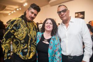 Rafa Esparza, Sarah Russin, Bill Moreno