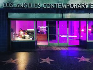 Tim Youd: Overnight at LACE featured in the Los Angeles Times