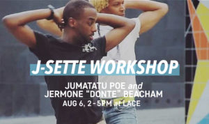 BIG BODY:  J-Settle Performance Workshop