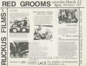 Ruckus Films of Red Grooms
