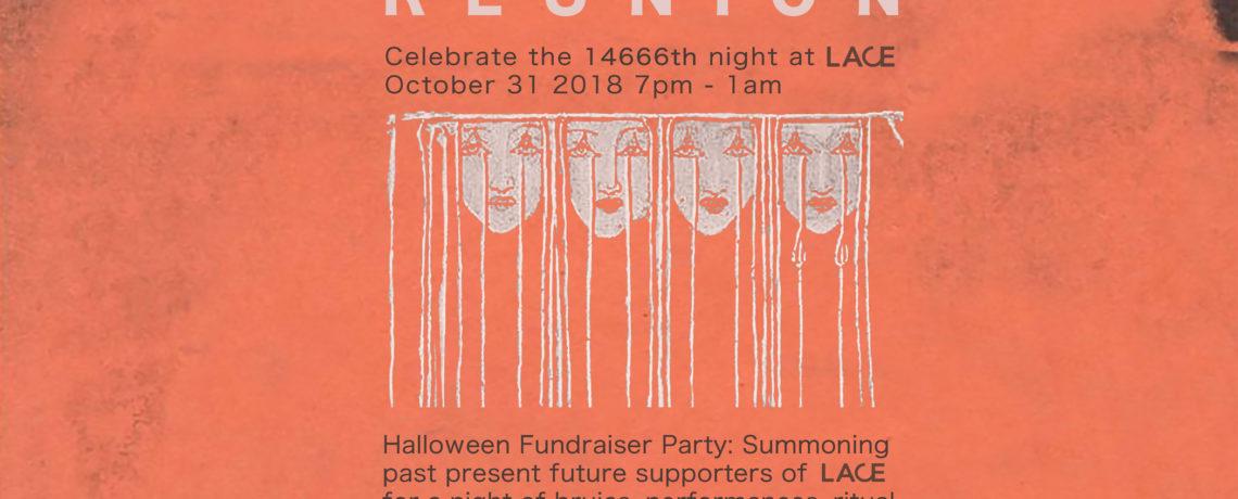 REUNION| Halloween Fundraising Party!!!